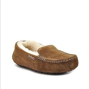 UGG Shoes - UGG ANSLEY SLIPPERS SIZE 8